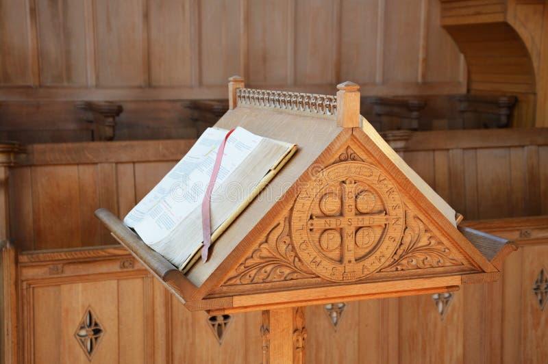 Аналой церков стоковые изображения