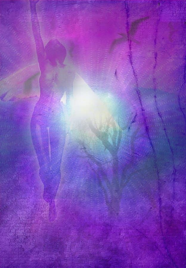 ангеликовое зрение иллюстрация штока