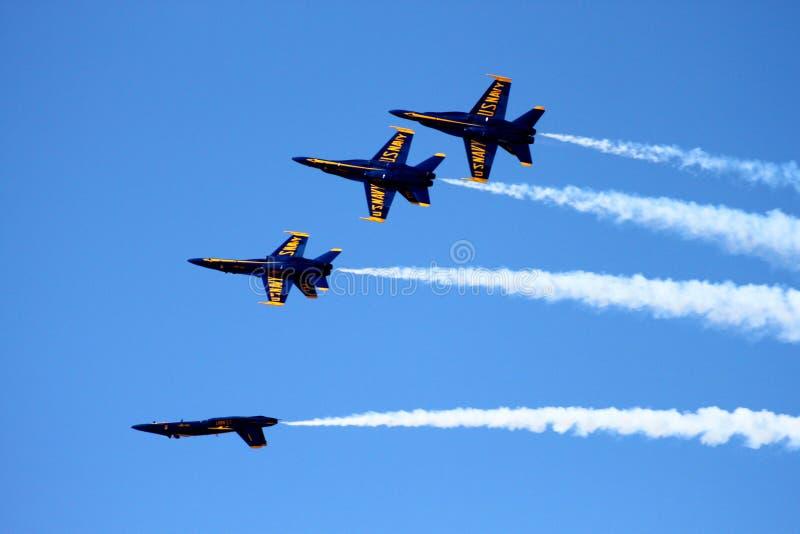 ангелы голубые стоковое изображение