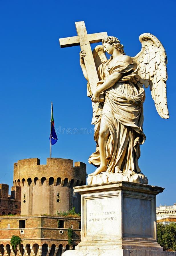 Ангелы Рим стоковые изображения rf