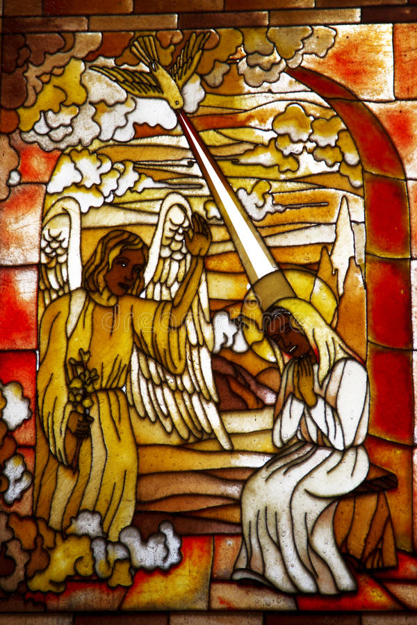 Ангел Габриэль стоковое изображение