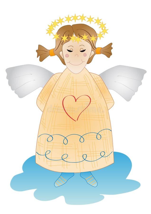 ангел милый стоковые изображения rf