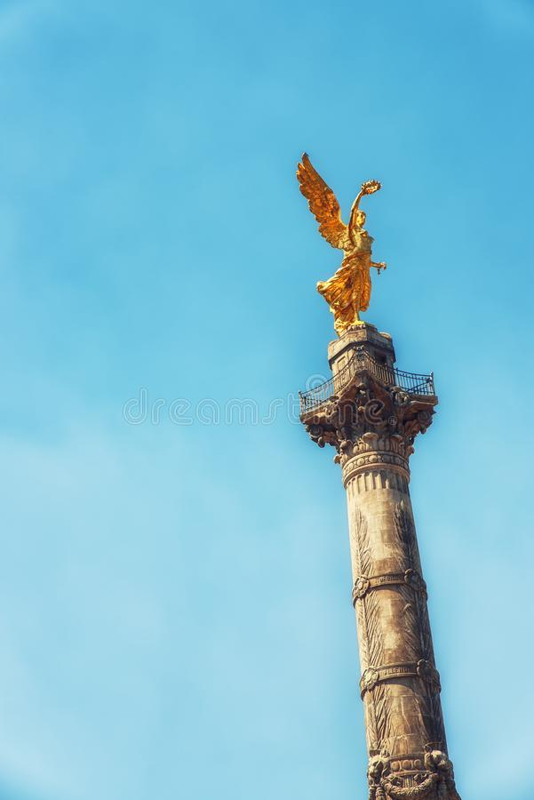 Ангел независимости стоковое изображение rf