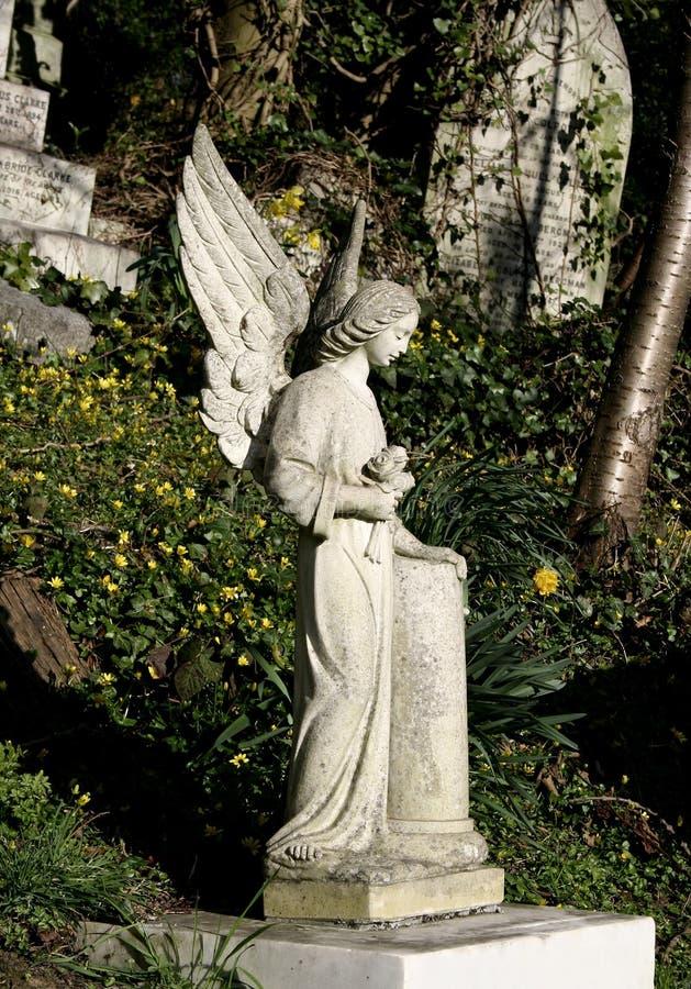 ангел оплакивая стоковые фотографии rf
