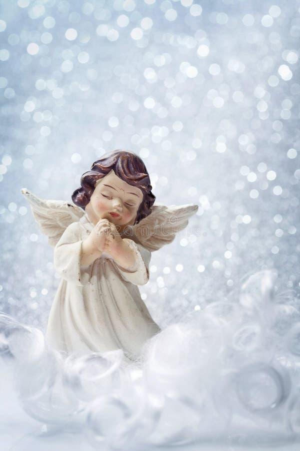 Ангел рождества стоковые изображения rf