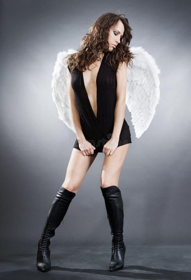 ангел сексуальный стоковые фотографии rf