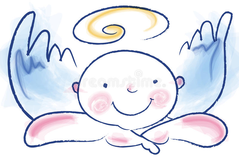 ангел смешной бесплатная иллюстрация