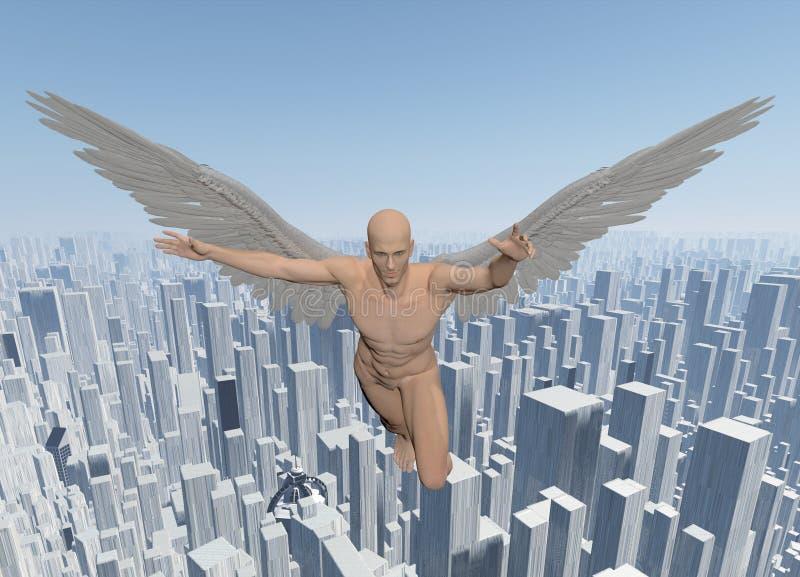 Ангел иллюстрация вектора
