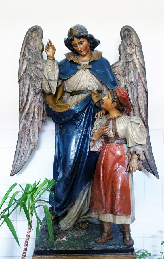 Ангел-хранитель стоковая фотография rf