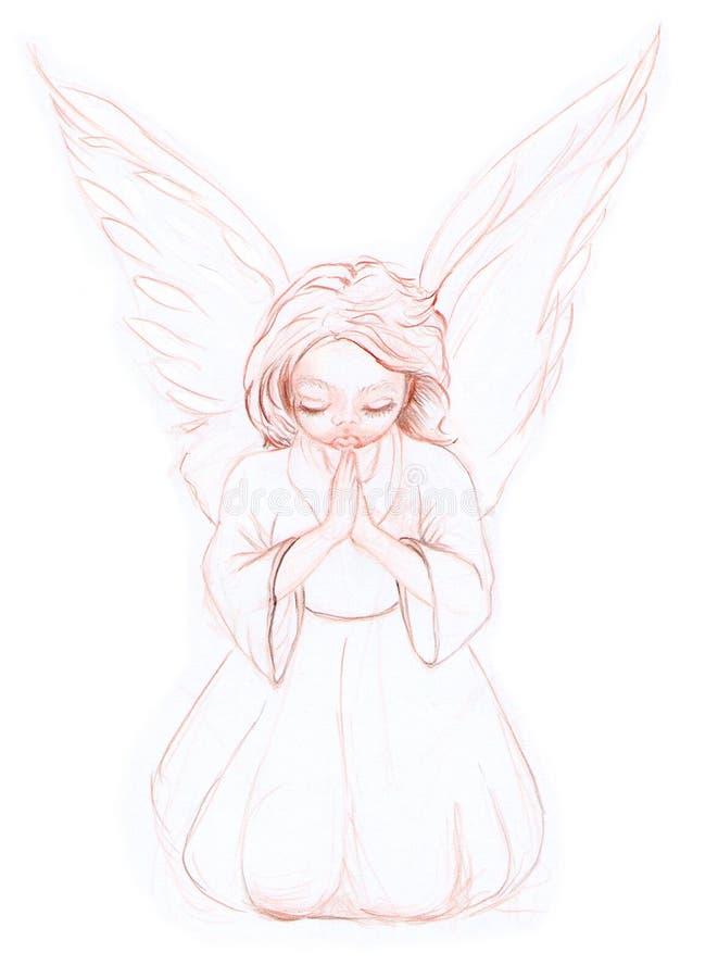 ангел 01 немногая стоковое изображение rf