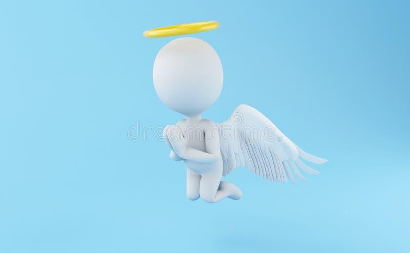 ангел 3d бесплатная иллюстрация