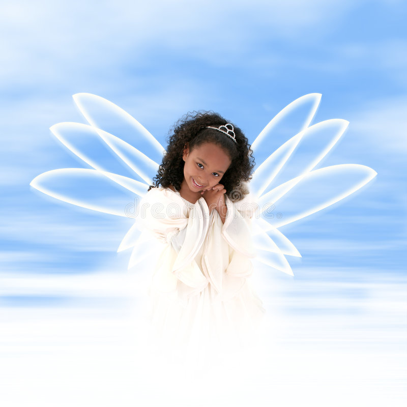 ангел magestic стоковые фото