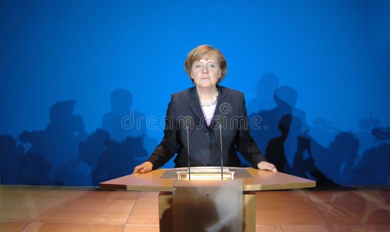 Ангела Меркель стоковые фото