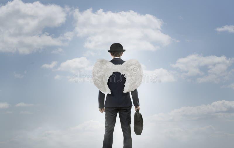 Ангел дела стоковое фото