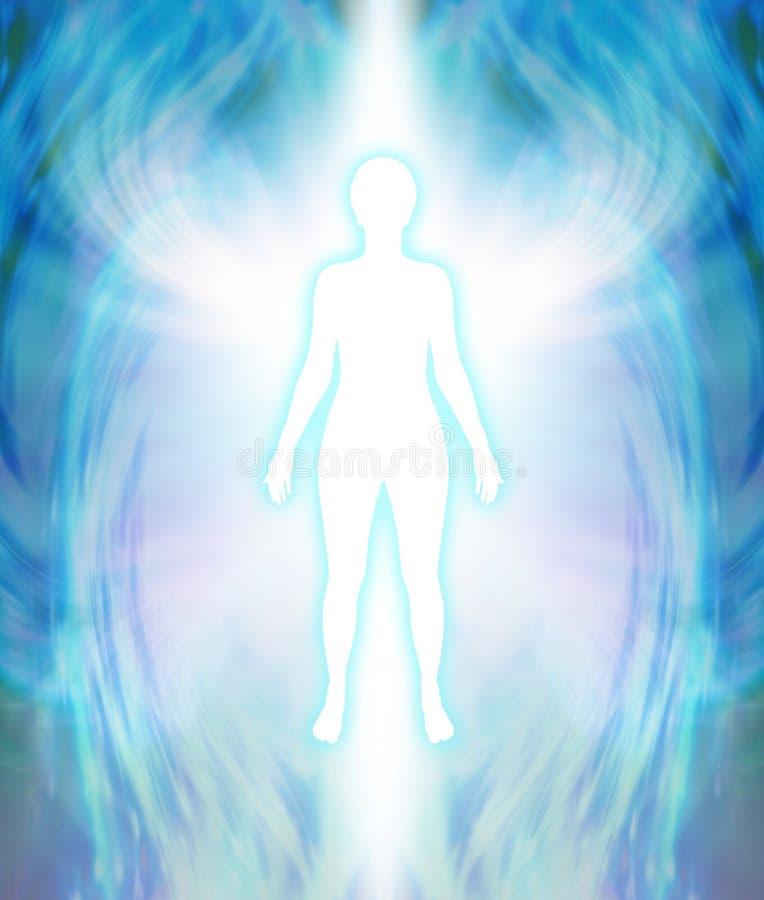 Ангеликовая аура очищает бесплатная иллюстрация