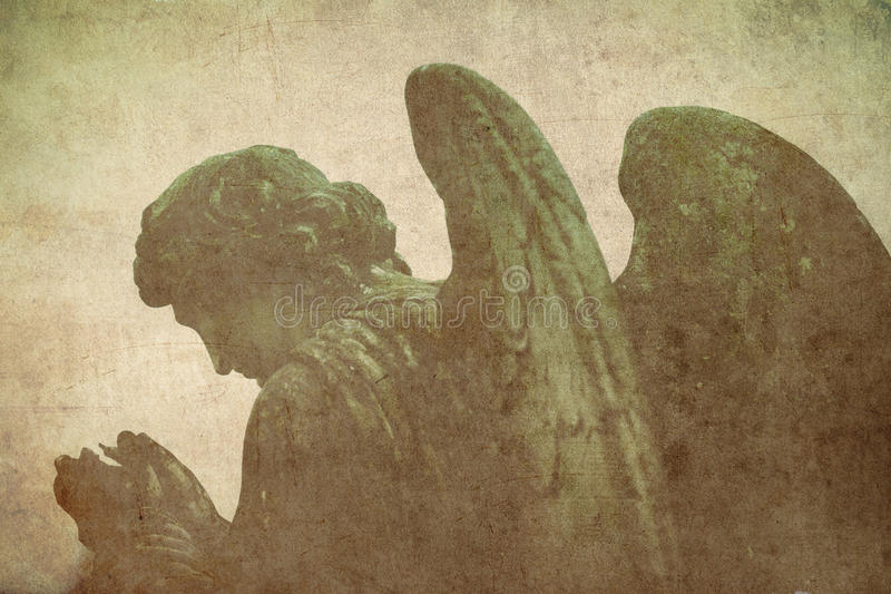 Ангел молитве стоковые фотографии rf