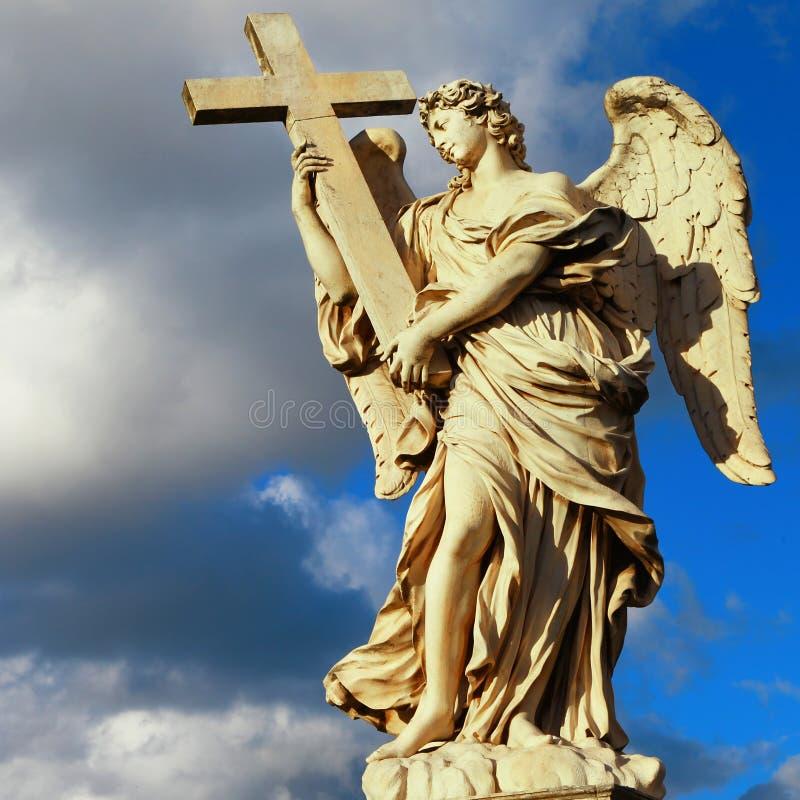 Ангелы Рима стоковое изображение