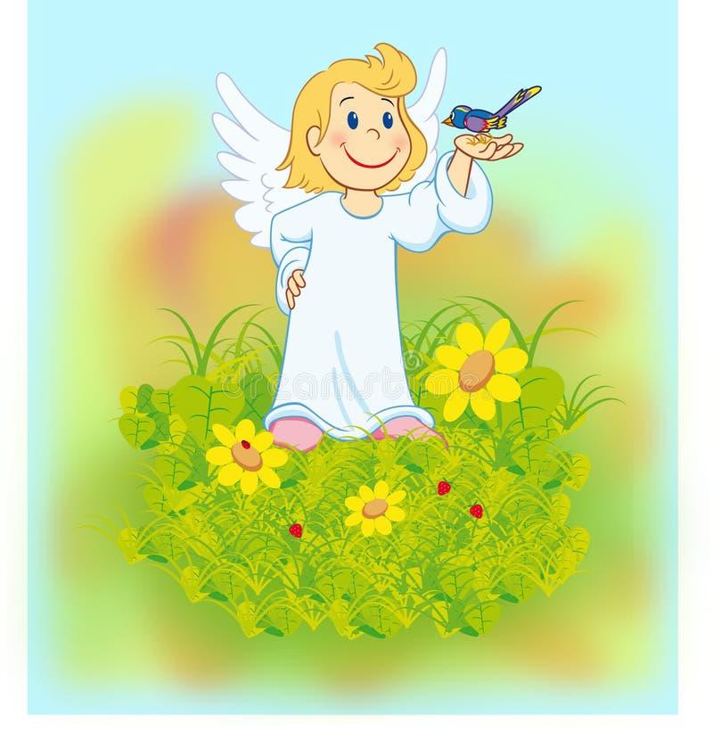ангел 02 стоковое фото rf