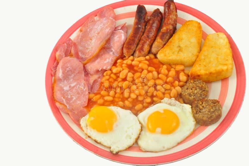 английская язык завтрака стоковые фотографии rf