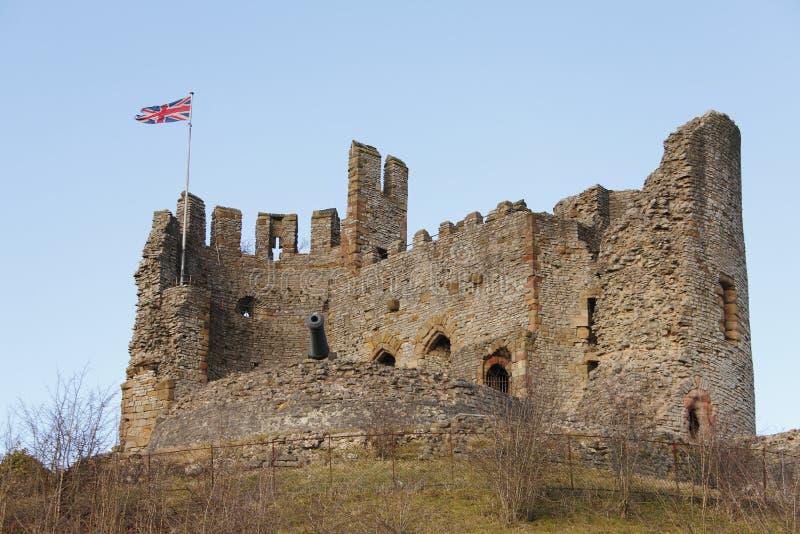 английская язык замока стоковое изображение