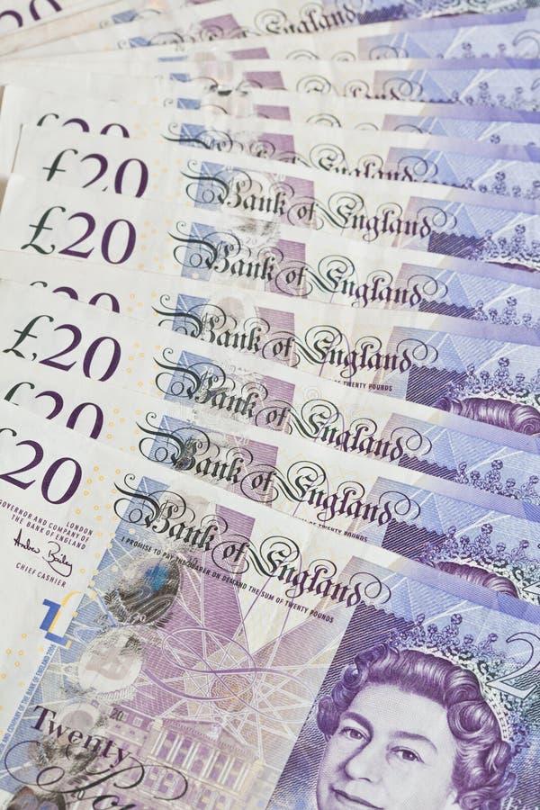 английские фунты стерлинговые стоковое фото rf