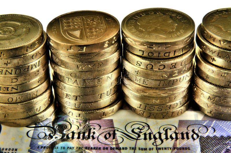 английские фунты стоковые фотографии rf