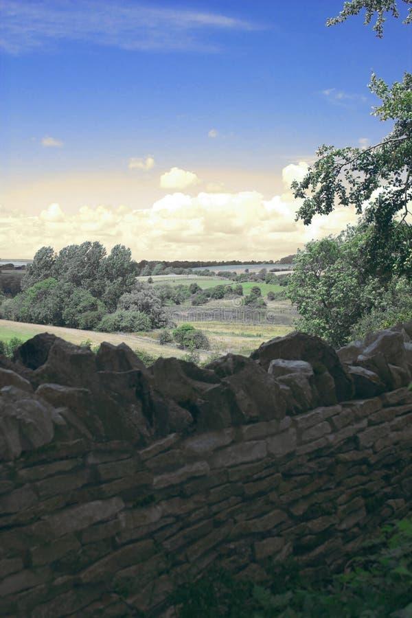 английский ландшафт стоковое изображение rf