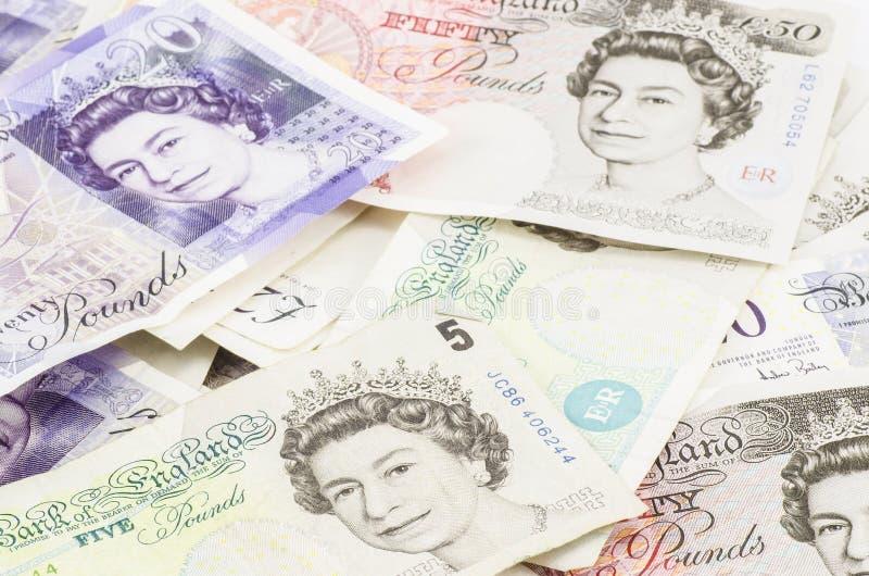 Английский фунт стоковая фотография rf