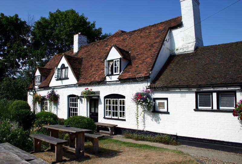 английский pub стоковая фотография rf