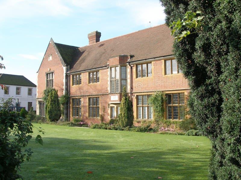 английское поместье дома стоковая фотография