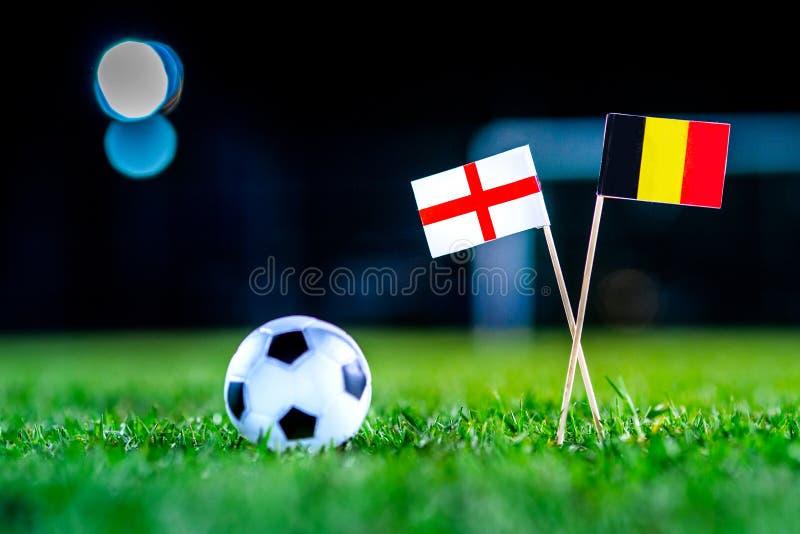 Англия - Бельгия, группа g, Thursday, 28 Футбол -го июнь, мир стоковое фото rf
