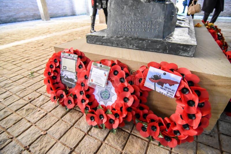 Download Англо-германское обслуживание день памяти погибших в первую и вторую мировые войны Редакционное Изображение - изображение: 103718375