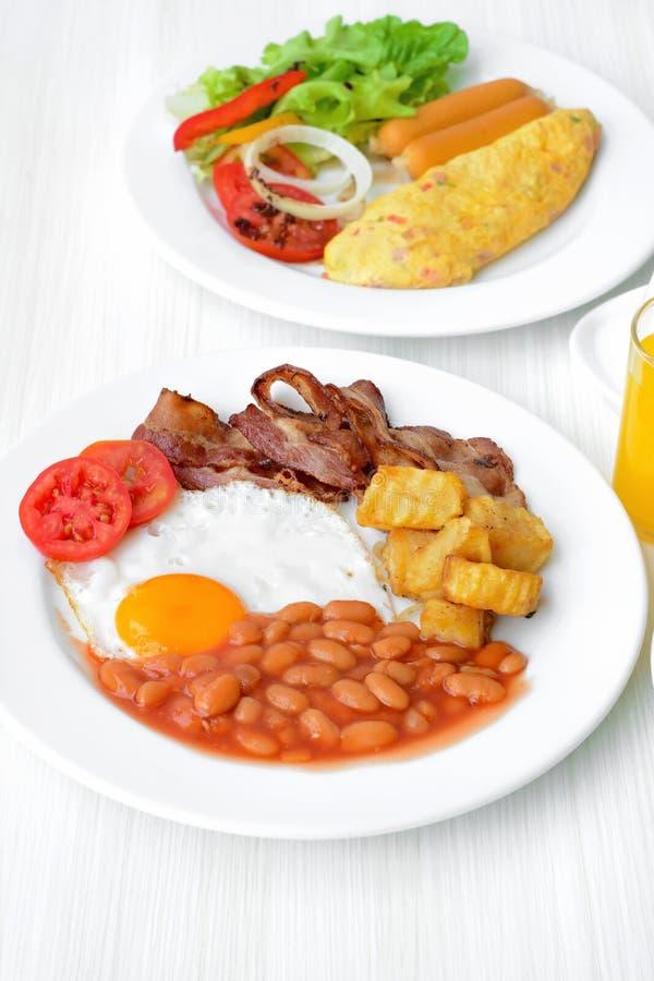 английская язык завтрака стоковое изображение