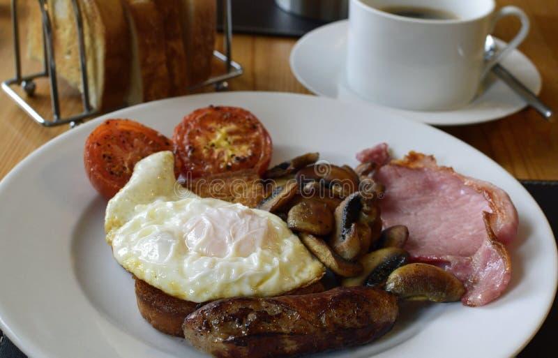 английская язык завтрака стоковая фотография rf