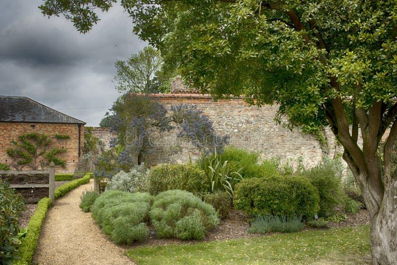 Английский сад стоковая фотография rf