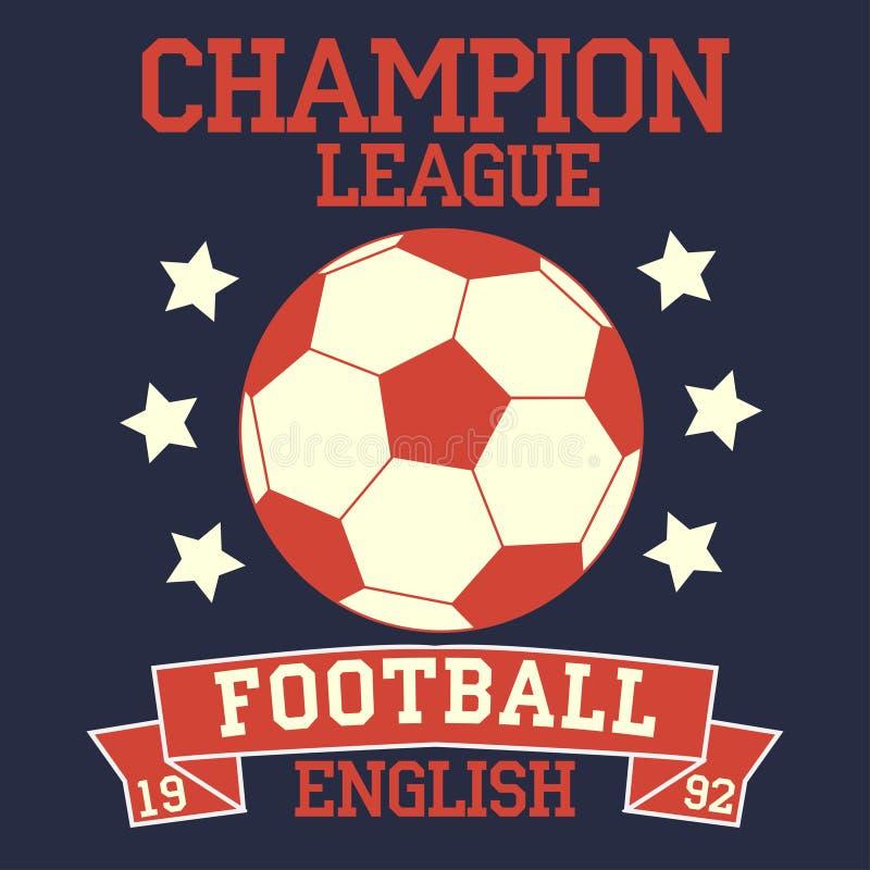 английский футбол иллюстрация штока