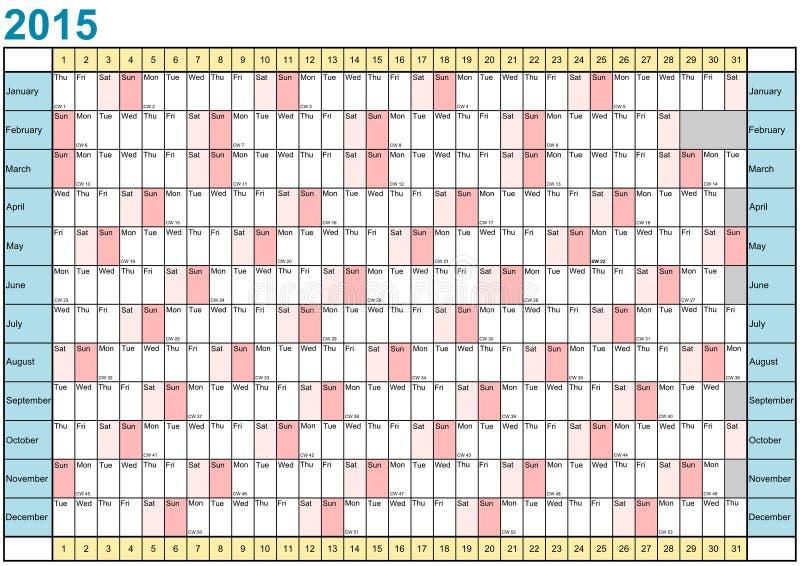 английский язык плановика 2015 год линейный иллюстрация штока