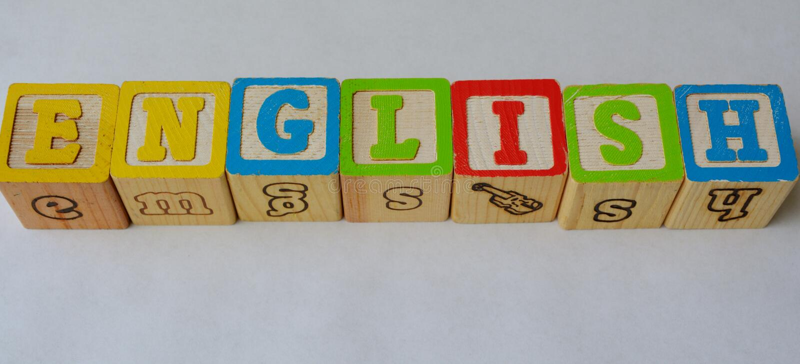 Английский язык (ESL) стоковые изображения