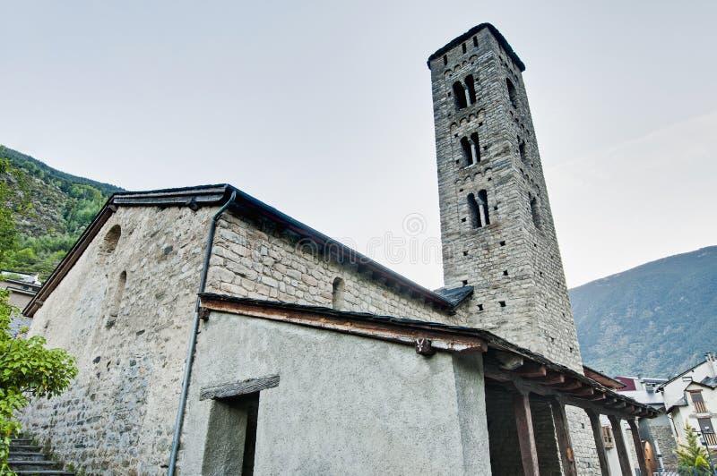 Андора encamp eulalia santa стоковое изображение