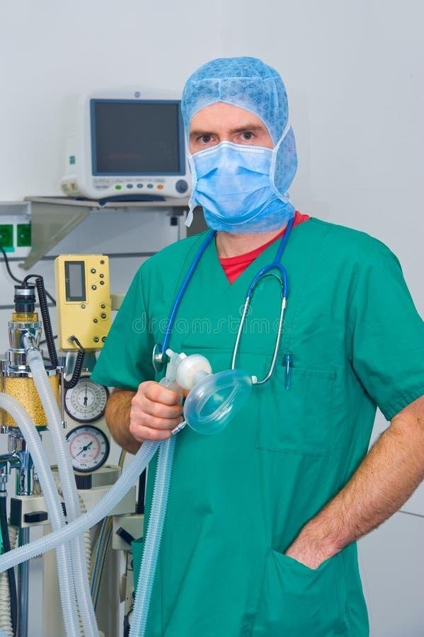 Анестезиолог стоковое изображение
