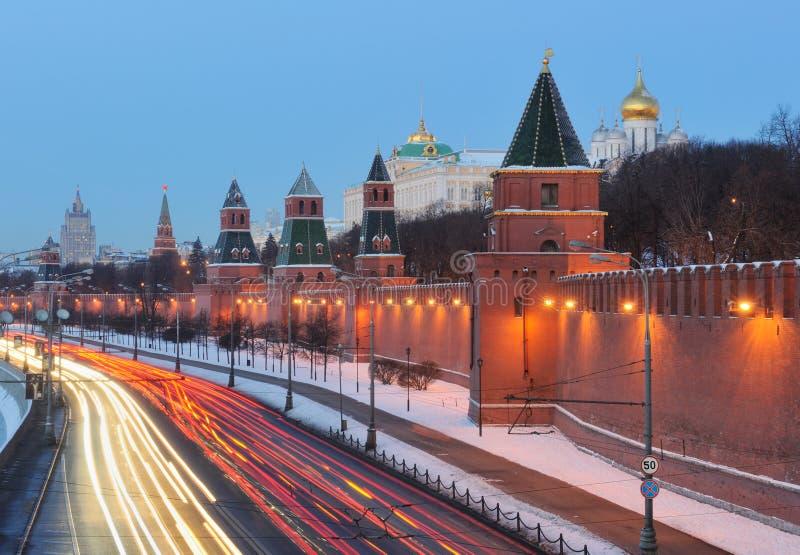 ансамбль kremlin moscow Россия стоковая фотография