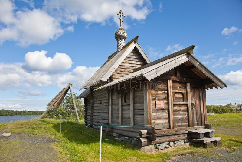 Ансамбль Kizhi Pogost и объектов деревянной архитектуры стоковое фото