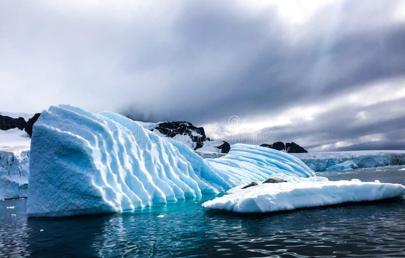 Антарктика в зиме стоковые фото