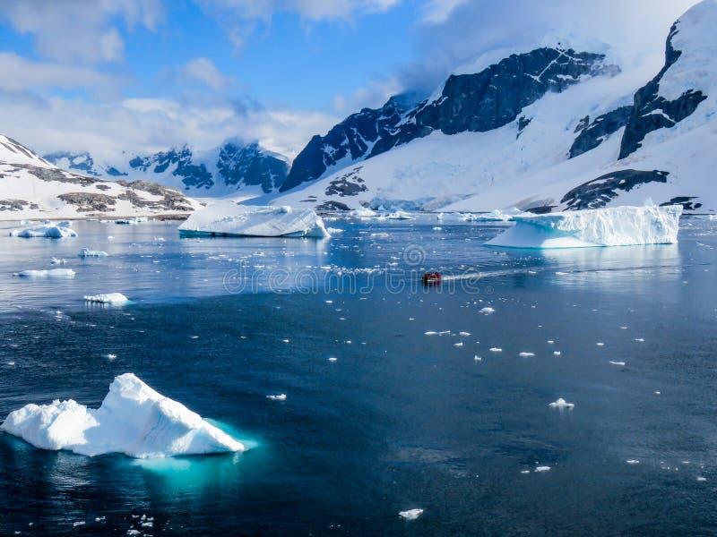 Антарктика в зиме стоковое изображение