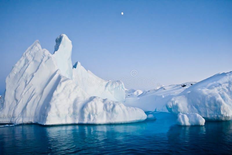 Антартический айсберг стоковые изображения