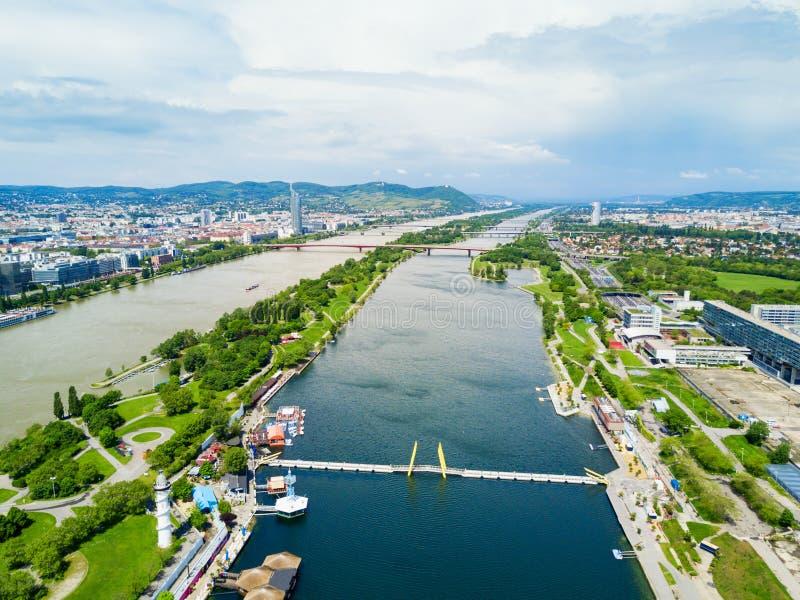Антенна района Дуная, вена стоковое изображение rf
