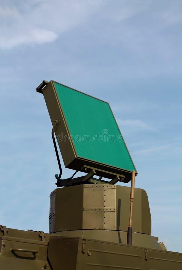 Download Антенна радара для противовоздушнаяа оборона Стоковое Изображение - изображение насчитывающей воинско, оборудование: 33732727