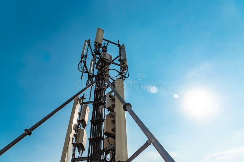 Антенна телефона стоковое изображение