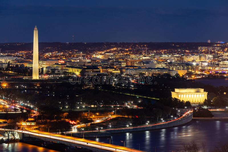Антенна DC Вашингтона стоковые изображения