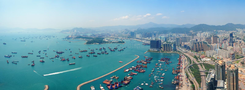 Антенна Hong Kong Стоковое Изображение